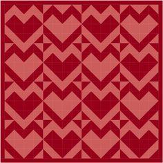 heart quilt