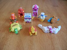 Vintage 1990's McDonald's Transformers Happy Meal Toys Lot of 9