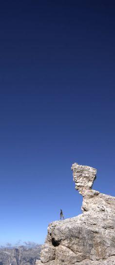 L'ultimo re dei Fanes trasformato in pietra sul Lagazuoi