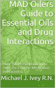 If you take prescriptions, you need this. This is a great resource to have on-hand. Helpful to know about possible drug interactions with essential oils.