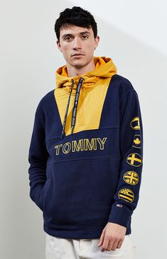 Hoodies and Sweatshirts for Men Tommy Hilfiger Outfit, Men Design, Boys Shirts, Hoodie Jacket, Mens Sweatshirts, Shirt Designs, Men Shirt, Sweat Shirt, Special Forces