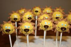 Lion cake pops By rondasnyder on CakeCentral.com
