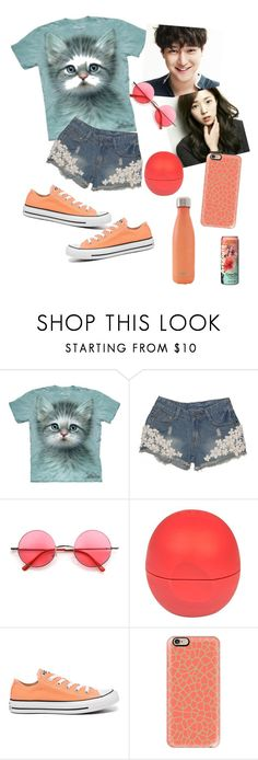 """""""Strongest deliveryman"""" by elliewriter ❤ liked on Polyvore featuring Retrò, River Island, Converse, Casetify, S'well and imfangirling"""
