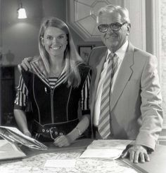 High-flying: Kendall (right) joined Treasure Hunt in 1982 and the show, which featured Anneka Rice (left) scouring the country for clues in a helicopter, become a huge hit for the fledgling Channel 4 Isle Of Wight, Childhood Memories, Kendall, How To Become, The Past, Channel, Rice, Popular, Country