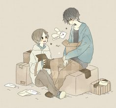💌。 Anime W, Sad Anime, Kawaii Anime, Anime Guys, Pretty Art, Cute Art, Tomboy Drawing, Character Creation, Character Design