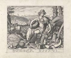 Landbouw, Philips Galle, Hugo Favolius, 1574