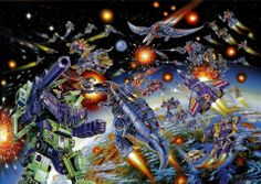 Classic Transformers box art