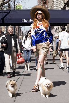 Book your personal shopping appointment. Nyc Fashion, Womens Fashion, Personal Shopping, Dog Walking, Fashion Stylist, Redheads, Passion For Fashion, Red Hair, Stylists
