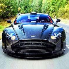 Dont mess with the boss! Carbon fibre! - Aston Martin