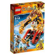 "LEGO Legends of Chima - Lavals Fire Lion (70144) - LEGO - Toys""R""Us"