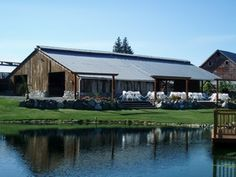 The Farm at Swan's Trail, Snohomish. The owners go to our church! (Or...we go to theirs...) Wonderful people, wonderful place!