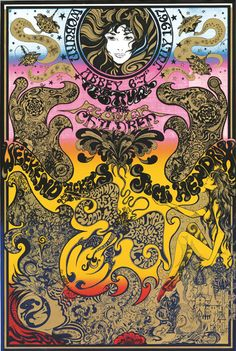 (non-official) Woburn Festival UK poster, July 6-7th, 1967 by Michael English