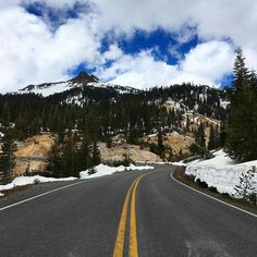 We 'discovered' Lassen Volcanic NP yesterday (by which I mean we saw signs and hadn't heard of it before ). The main road through is still closed while they clear snow but that leaves miles of cleared silent road which you can hike at your leisure alongside deep snow drifts and boiling sulphur pools. It's rare to find such peace and we are heading back today to enjoy more. If you get your show shoes on you can even go off road #lassenvolcanicnationalpark #findyourpark #hike #quiet #peace…