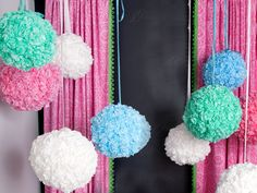 Let Them Eat Cake: A Pom-Pom DIY
