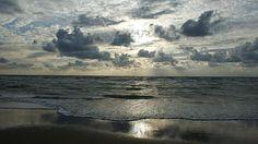 Noordzee, Zee, Strand, Wolken, Horizon