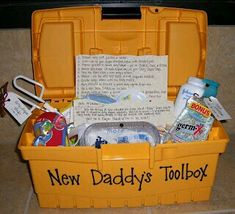 A must for daddy. Love the idea.