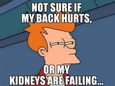 30 Things Only Hypochondriacs Will Understand lol kinda funny but serious if you are prone to kidney infections (i e.me) lol Medical Humor, Nurse Humor, Haha Funny, Hilarious, Funny Shit, Funny Stuff, Just For Laughs, Just For You, Nurse Love