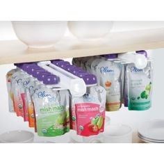 Munchkin Baby Food Pouch Organizer. Amazing! I so just bought this.