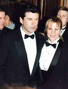 Alec Baldwin with ex-wife, Kim Bassinger