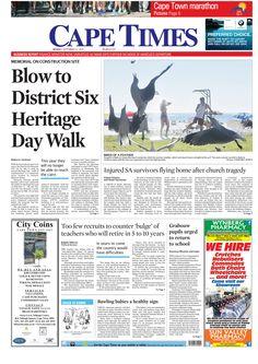 News making headlines: Blow to District Six heritage walk