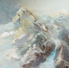 Wonderful winter world in the Austrian Alps. Wunderbare Winterwelt in den Alpen. Creative, Mountain, Winter, Painting, Outdoor, Art, Creative Pictures, Alps, Kunst