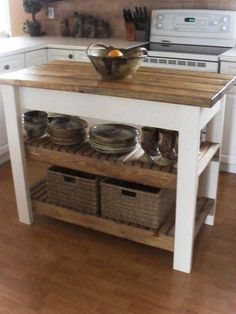 reclaimed woodCHRISTMAS SPECIAL pallet wood pallet kitchen island kitchen island pallet island hand rubbed Coconut or Danish oil Pallet Island, Pallet Kitchen Island, Farmhouse Kitchen Island, Rustic Kitchen, New Kitchen, Kitchen Decor, Rustic Farmhouse, Primitive Kitchen, Farmhouse Style