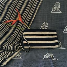 Hand-woven liberian cotton purse ... Trying new trendy