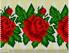 1 million+ Stunning Free Images to Use Anywhere Crochet Ball, Bead Crochet, Seed Bead Flowers, Beaded Flowers, Cross Stitch Rose, Cross Stitch Flowers, Beading Projects, Beading Tutorials, Bead Loom Patterns