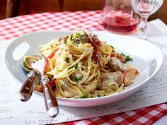 Bistro-Küche – unkomplizierter Genuss à la française - spaghetti-mit-lamm  Rezept