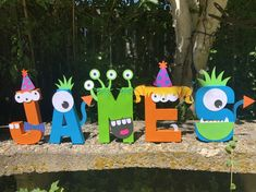 Excited to share this item from my shop: Monster theme paper mache letters First Birthday Crafts, Halloween First Birthday, Little Monster Birthday, Baby Boy 1st Birthday Party, Monster 1st Birthdays, First Birthday Party Decorations, Second Birthday Ideas, Birthday Themes For Boys, Monster Birthday Parties