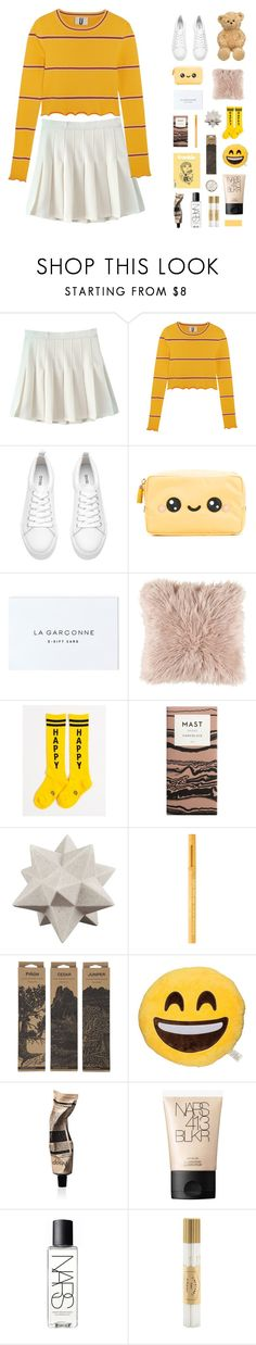 """""""IVE GOT THE SADNESS DISEASE"""" by junglex ❤ liked on Polyvore featuring Topshop Unique, H&M, Anya Hindmarch, Moe's Home Collection, Too Faced Cosmetics, Jayson Home, Aesop, NARS Cosmetics and Fine & Candy"""