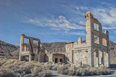 A guide to visiting Rhyolite ghost town near Beatty, Nevada and Death Valley