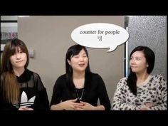 Speak Korean Today! Conversation 5 - Please give me two bags. 가방 두개 주세요.