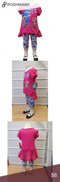 d12a43dd783ea Nickelodeon Girls 2-piece Shimmer & Shine Short St Nickelodeon Toddler Girls  2-piece