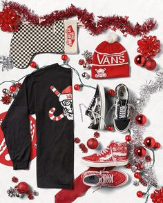 Want to make this season bright? Head to vans.com for the Holiday with the Van Dorens collection.