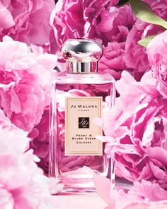 Exquisitely fragile yet flirtatious with a bite of red apple in Peony Blush Suede by Jo Malone