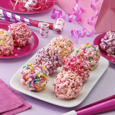 Princess Popcorn Balls - Recipes - ReadySetEat- Fun and girly recipe for a summertime from a fellow girl.