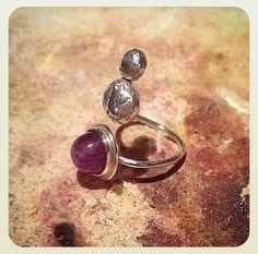 Plata y amatista. Joyería. Jewelry.