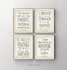 Nursery Framed Quotes. QuotesGram