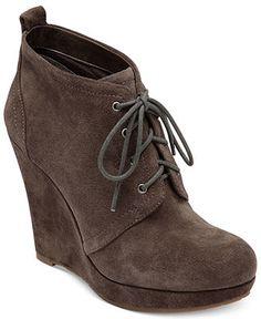 Jessica Simpson Boots, Catcher Wedge Booties - Boots - Shoes