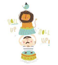 Lisa Martin << Illustration Friday