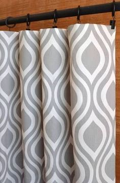33 white and gray window curtains ideas