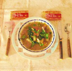 Sopa de pollo a la maracucha... Zulia - Venezuela