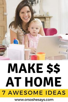 7 Legit Ways to Make Money at Home Right Now Work From Home Jobs, Make Money From Home, Way To Make Money, How To Make, What To Sell, Cooking Classes For Kids, Best Self, Teaching English, Family Life