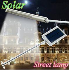 12/15 LED Solar Sensor Panel de Iluminación de la Lámpara Con energía Solar Luz de Calle LLEVADA Al Aire Libre Pared Camino Lámpara de Emergencia de Seguridad Del Punto de Luz