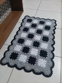 Crochet Table Mat, Center Table, Crochet Blanket Patterns, Rugs, Sewing, Etsy, Crochet Dishcloths, Floor Mats, Colorful Rugs