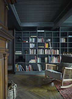 Berdorf Chalet Bernese Oberland Bookshelves
