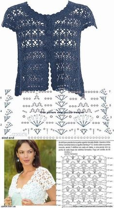 Freeform crochet como fazer um vestido em tecido e crochê para bebe – Artofit - DiyForYou Gilet Crochet, Crochet Coat, Crochet Cardigan Pattern, Crochet Jacket, Freeform Crochet, Crochet Blouse, Crochet Shawl, Crochet Stitches, Shrug Pattern
