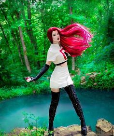 """chubbies-and-pokemon: """"Team Rocket - Jessie """" Cosplay Pokemon, Anime Cosplay, Epic Cosplay, Cosplay Dress, Amazing Cosplay, Cosplay Outfits, Cosplay Girls, Cosplay Costumes, Comic Con Costumes"""