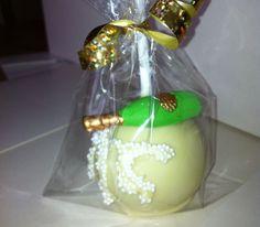 Champagne Cake Pops #wedding #cakePops #wickedpops